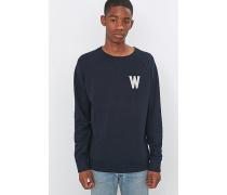 """Sweatshirt """"Wade"""" in Marineblau mit Rundhalsausschnitt"""