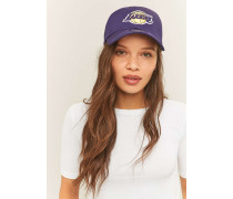 """Basecap """"9Forty L.A. Lakers"""" in Braun"""