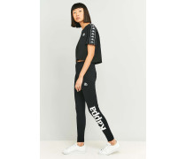 "Leggings ""Authentic"" in Schwarz mit Logo"