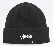 "Beanie ""Polar"" aus Fleece in Schwarz"