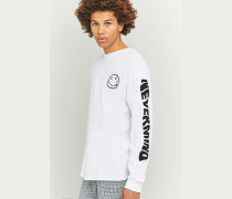 "Longsleeve ""Nirvana"" mit Smiley"