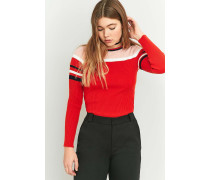 Urban Outfitters  Pullover mit rosafarbenem ColourBlockDesign