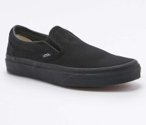 Klassische Slipper in All Black