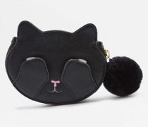 "Geldbörse ""Hiding Cat"" in Schwarz"