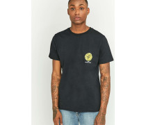 "TShirt ""The Stone Roses"" in Schwarz"