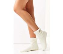 Kuschelige Socken aus Rippstrick