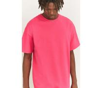 OversizedTShirt i Skaterstyle in Rosa