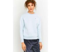 """Sweatshirt """"Sansia"""" in Blau mit Rundhalsausschnitt"""