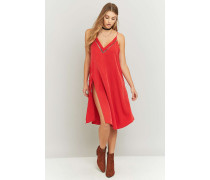 "MilitaryKleid ""All I Want"" in Rot"