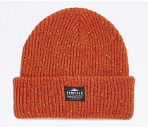 "Melierte Beanie ""Harris"" in Orange"