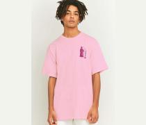 "TShirt ""Creepin' Death"" in Rosa"