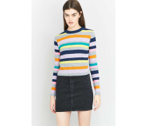 Urban Outfitters  Gestreifter Pullover in Neonfarben
