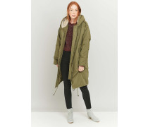Light Before – MilitaryParka mit SherpaFutter in Khaki