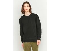 """Asymmetrisches Sweatshirt """"Simon"""" in Schwarz"""