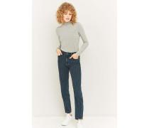 Mom Jeans mit Nadelstreifen