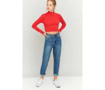 Dunkelblaue VintageMomJeans