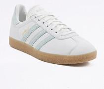 """VintageSneaker """"Gazelle"""" in Grün und Weiß"""