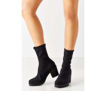 """Elastische Ankle Boots """"Grace"""" in Schwarz"""