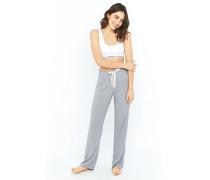 Pyjamahose mit geometrischem Punktedesign