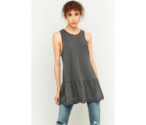 """Kleid """"Brittany"""" in Schwarz mit Schößchen"""