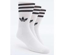 Weiße Socken im Set