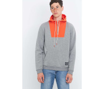 "Hoodie ""Bag It"" in Grau"