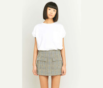 "Urban Outfitters  Karierter Minirock ""Scout"" in Gelb"