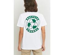 """TShirt """"Recycle Sounds"""" in Weiß"""