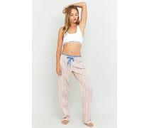 Pyjamahose mit lebhaftem Streifendesign
