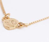 Halskette mit kleinem Totenkopfanhänger