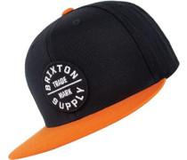 Oath Iii Snapback schwarz orange