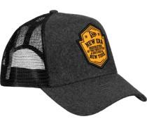 Wool Patch Trucker Cap