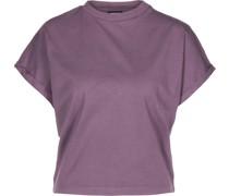 Short Pigment Dye Cut On Sleeve T-Shirt