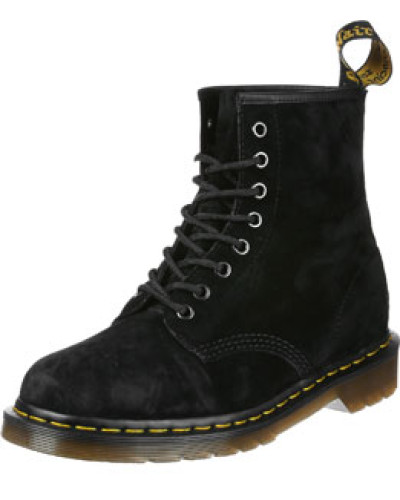 Dr.Martens Herren 1460 Soft Buck Stiefel schwarz schwarz
