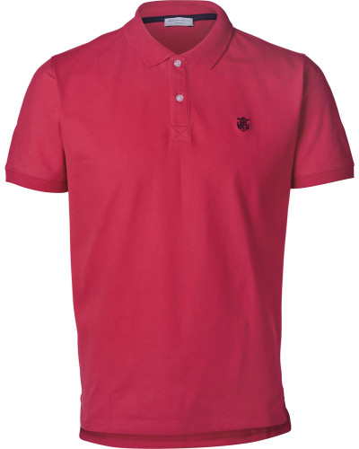 elected HDAro Embroidery Herren Polo pink