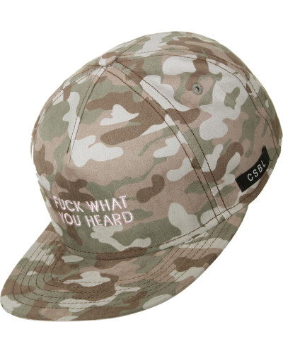 What You Heard Snapback oliv braun
