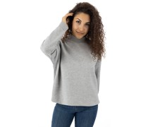 Oversized High Neck Crew Sweater