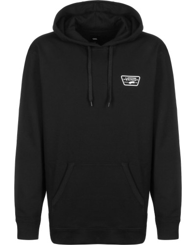 Full Patched Herren Hoodie chwarz