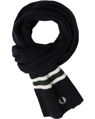 Merino Wool Schal blau