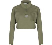 Cropped Sweat Sweater