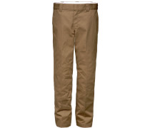 873 Slim Straight Work Pant Herren Chino braun