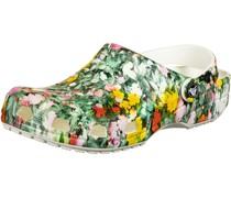 Classic Printed Floral Pantoletten
