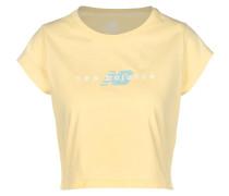 WT01511 Damen T-hirt gelb