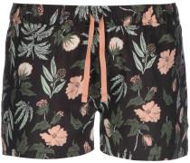 Island Hemp Damen Shorts schwarz