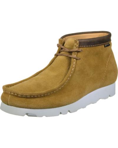 Clarks Herren WallabeeBT Gtx Casual Schuhe braun braun