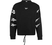 CL D Vector Repeat Plus Size Crop Sweater