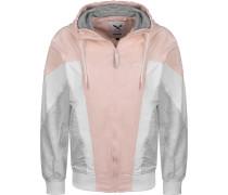 Tia Daen Windbreaker weiß pink