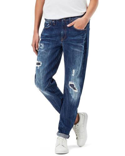 Arc 3d Low Boyfriend Damen Jeans dk aged restored 106