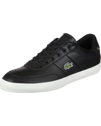 Lacoste Herren Court-Master 118 2 Schuhe schwarz