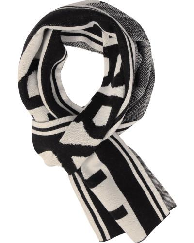 C4107 Schal schwarz grau